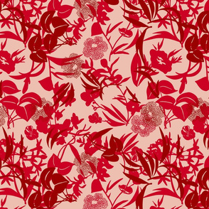 jungle floor - 2 reds/shell