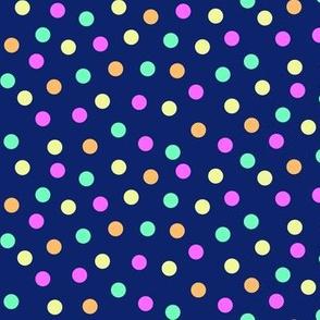 confetti - tutti frutti on navy