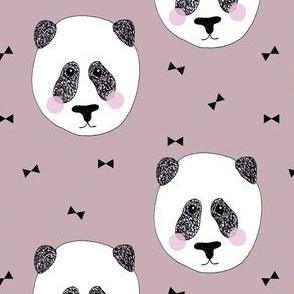 Panda Dusty Pink