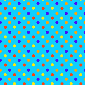 Lava and Water Polka Dots by Cheerful Madness!!