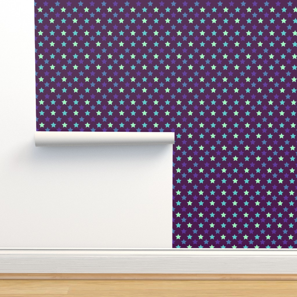 Isobar Durable Wallpaper featuring Atlantic Polka Stars by Cheerful Madness!! by cheerfulmadness_cartoons