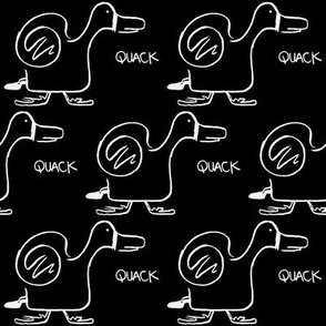 quack attack (black olive)