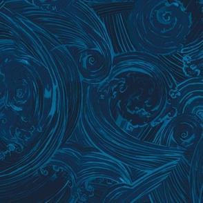 Deep Blue Sea - Navy