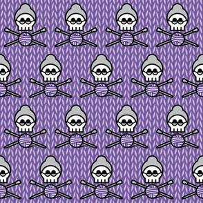 Hard Core Stockinette (purple)