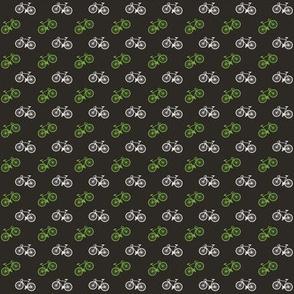 Bicycle Print - Lime - Small