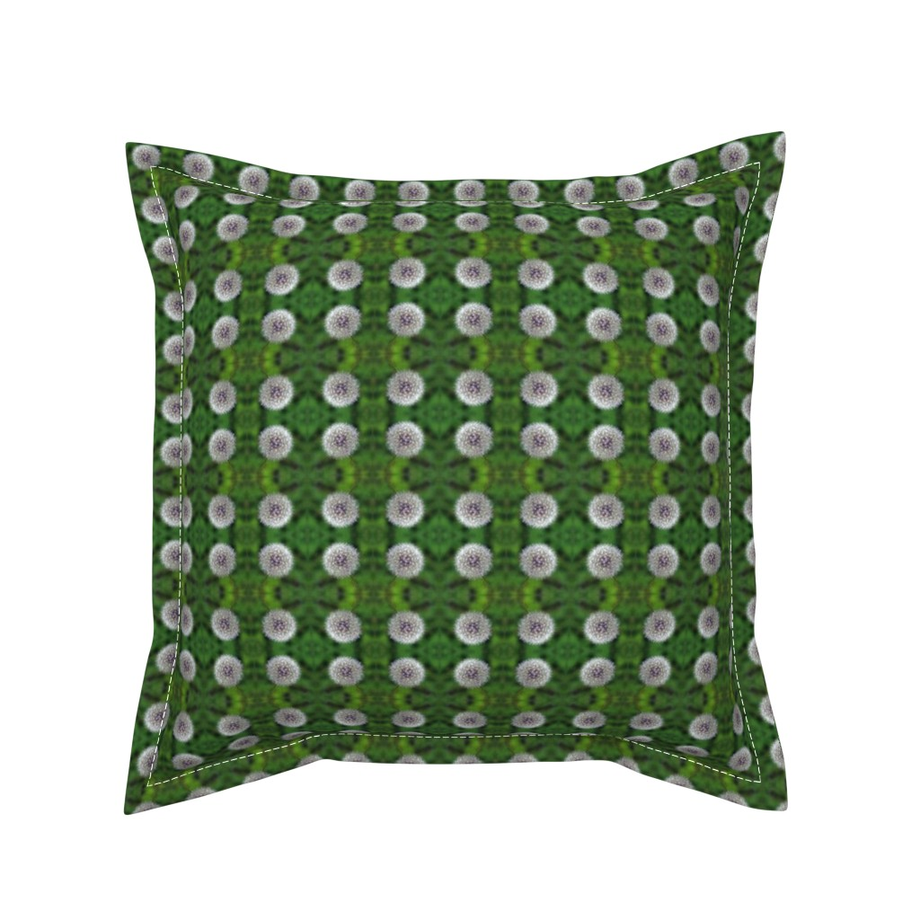 Serama Throw Pillow featuring Dandelion by snaphappyscientist