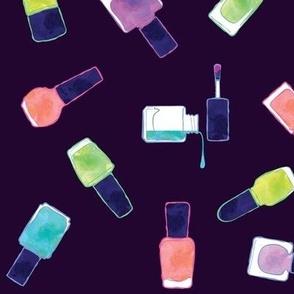 nail polish in colors