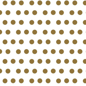 dotty dots - gold