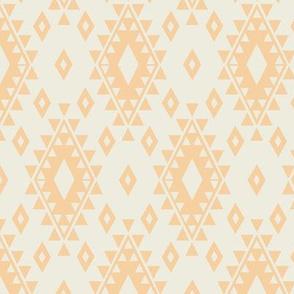 Aztec - Cream & Yellow