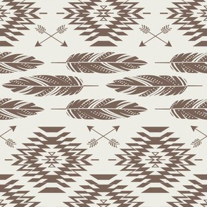 Native Roots - Cream - Brown