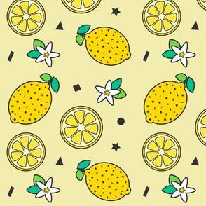 Lemons & Confetti Yellow