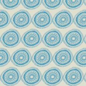 Blue ircles