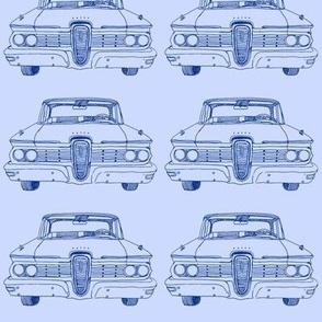 Blue 1959 Edsel Ranger or Corsair