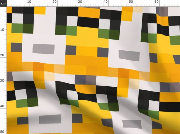 Fabric by the Yard Stampylongnose Face Pillow