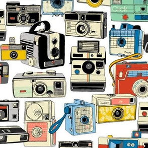 Make It Snappy!* (Revisited) || vintage camera illustrations analog photography film photo photographer