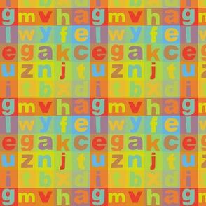 Alphabet Colours