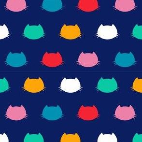 Coordinate Colour Cats silhouette