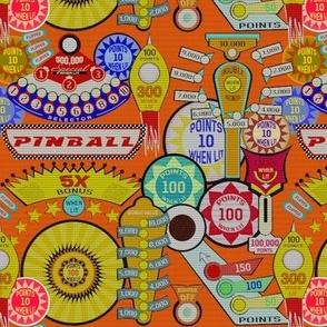 Pinball Wizard in Orange - SMALL