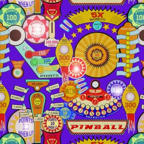 Pinball Wizard in Violet - SMALL