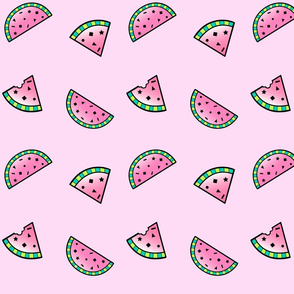 Confetti Watermelons Pink