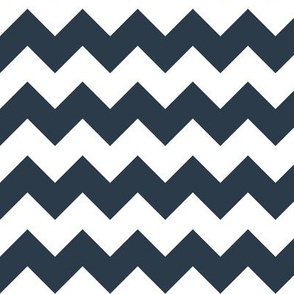 Chevron in Navy // Nautical monochromatic repeat pattern // for men and women // by Zoe Charlotte