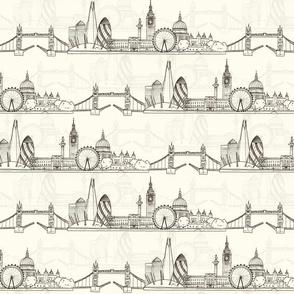 London Skyline (smaller scale)