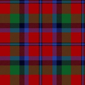 Montrose clan tartan / Red Graham tartan