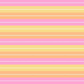 Retro Beach Stripe - Warm Tones