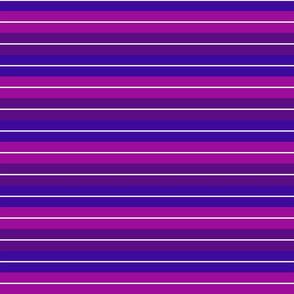 Retro Beach Stripes - Berry
