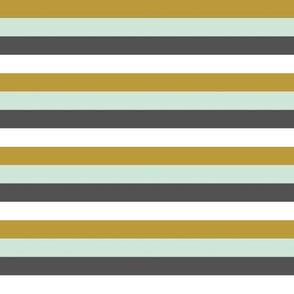 Multi Stripe // Woodland collection