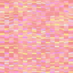 creek ripples in sherbet pink