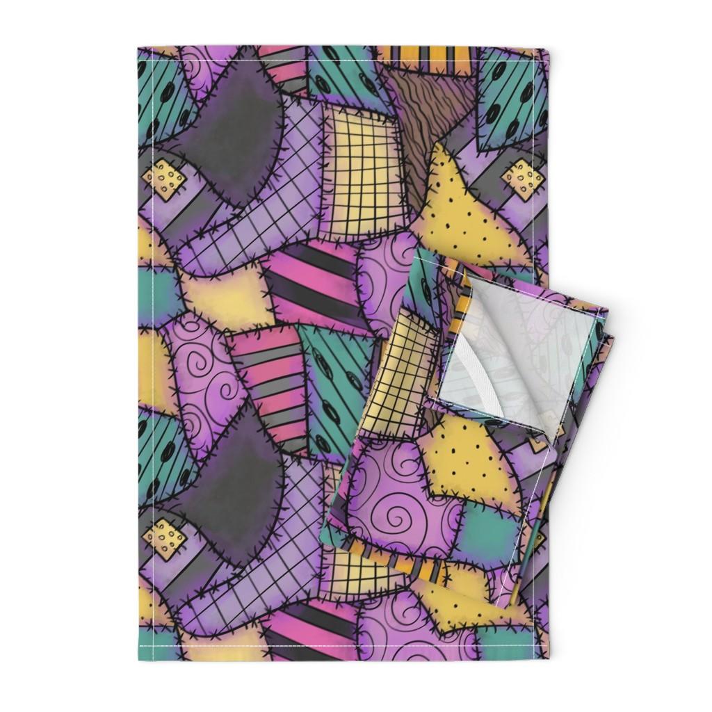 Orpington Tea Towels featuring Ragdoll Scraps - Small by elladorine