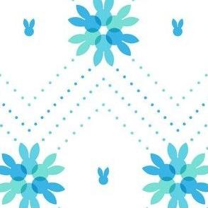 Snowflake bunnies
