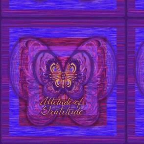 Purple Butterfly Attitude of Gratitude-ch