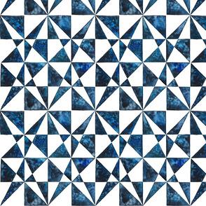 Blue Geometric II