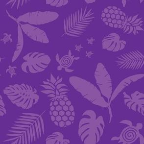 Tiki toons purple background lg
