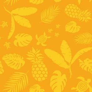 Tiki toons yellow background lg