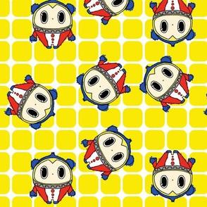 Persona 4 Teddie (doodled variant)