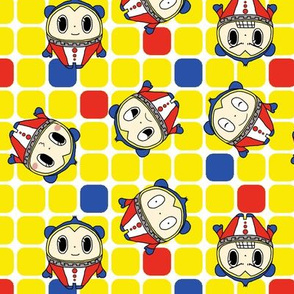 Persona 4 Teddie (silly faces variant)