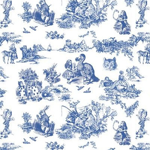 alice blue  toile de jouy smaller