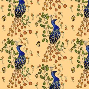 Pfau Purdy Peacock peachy