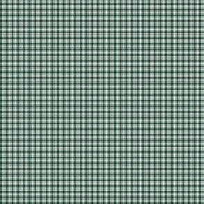 Plaid 6 Phthalo Green On White 1:6