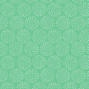 Dotted Circles in Teal