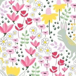 Garden bunny rabbits - BIG