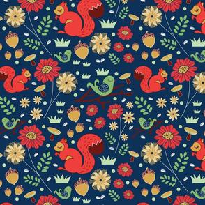 Lets Go Nuts Pattern-ByBeck