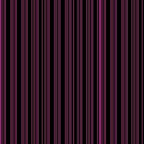 Steampunk Barcode Stripe in magenta