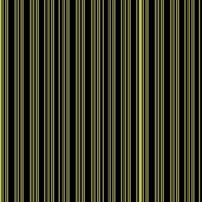 Steampunk Barcode Stripe in citrine