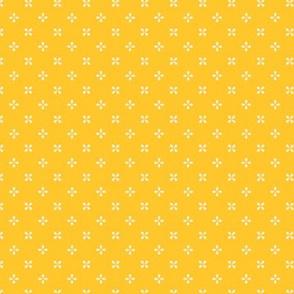 Prized Posies in Lemon Yellow