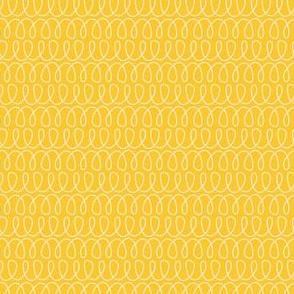 Curly Cues in Lemon Yellow