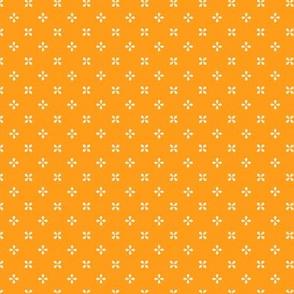 Prized Posies in Citrus Orange